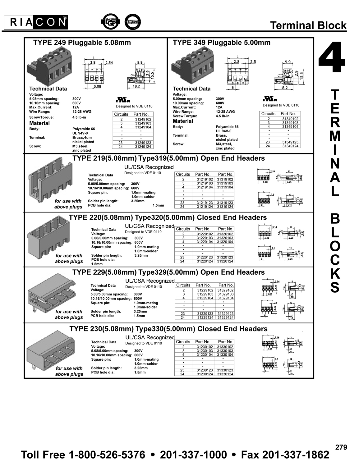 relay specialties catalog - riacon